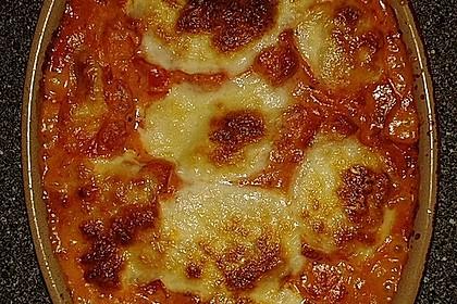 Gnocchi - Auflauf mit Tomate und Mozzarella 10