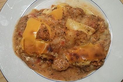 Gnocchi - Auflauf mit Tomate und Mozzarella 34