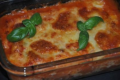 Gnocchi - Auflauf mit Tomate und Mozzarella 4