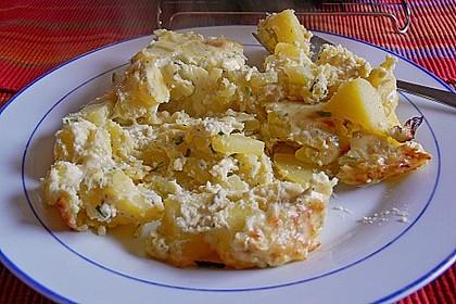 Feuermohns überbackene Gorgonzola-Kartoffeln 5