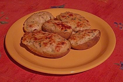 Feuermohns überbackene Gorgonzola-Kartoffeln 3