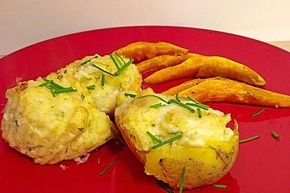 Feuermohns überbackene Gorgonzola-Kartoffeln