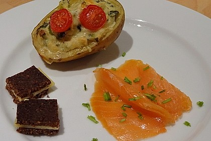 Feuermohns überbackene Gorgonzola-Kartoffeln 1