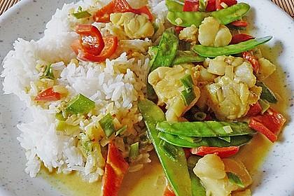 Thailändisches Garnelencurry 3