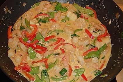 Thailändisches Garnelencurry 13