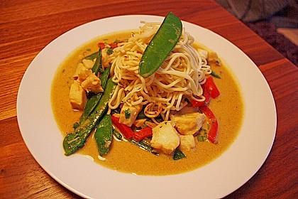 Thailändisches Garnelencurry 15