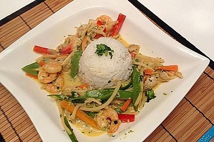 Thailändisches Garnelencurry 4