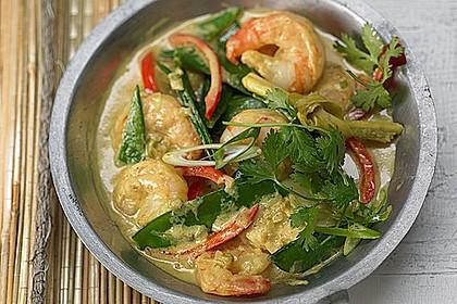 Thailändisches Garnelencurry 0