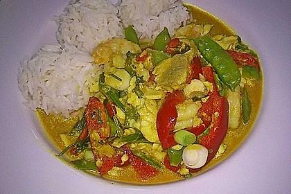 Thailändisches Garnelencurry 11