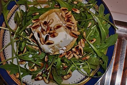 Überbackener Ziegenkäse mit Honigsauce 35