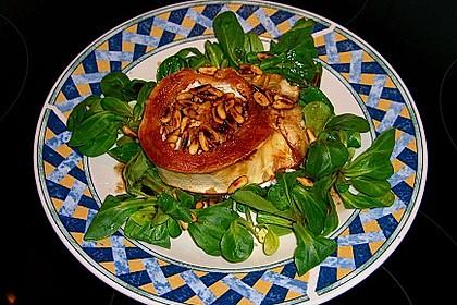 Überbackener Ziegenkäse mit Honigsauce 9