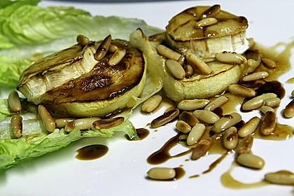 Überbackener Ziegenkäse mit Honigsauce 23