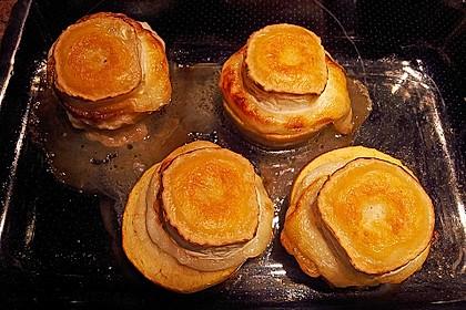 Überbackener Ziegenkäse mit Honigsauce 54