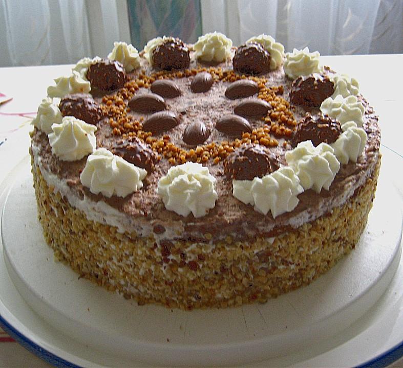 Haselnuss kuchen fullung