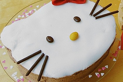 Hello - Kitty - Torte 10