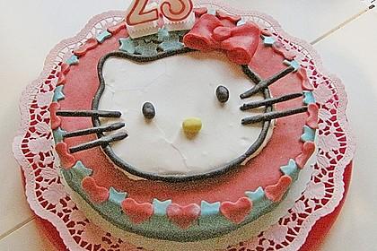 Hello - Kitty - Torte 40