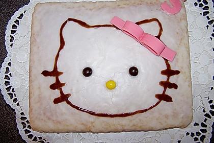 Hello - Kitty - Torte 58