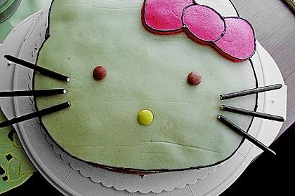 Hello - Kitty - Torte 29