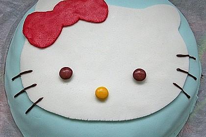 Hello - Kitty - Torte 16