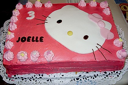 Hello - Kitty - Torte 5