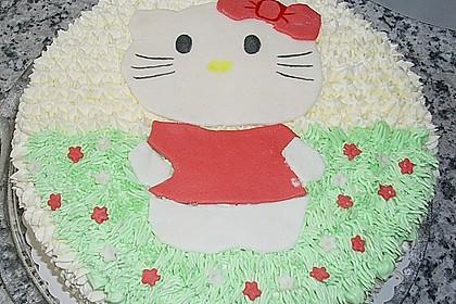 Hello - Kitty - Torte 36