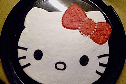 Hello - Kitty - Torte 4