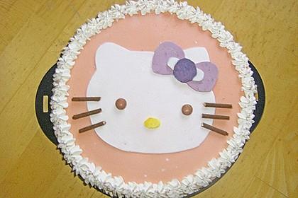 Hello - Kitty - Torte 22