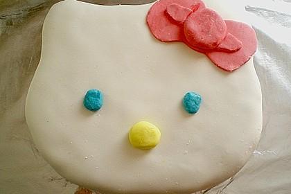 Hello - Kitty - Torte 25