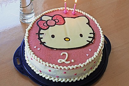 Hello - Kitty - Torte