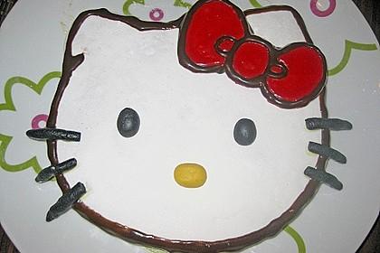 Hello - Kitty - Torte 50