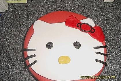 Hello - Kitty - Torte 81