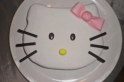 Hello - Kitty - Torte 6