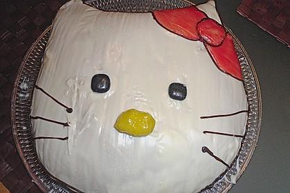Hello - Kitty - Torte 75