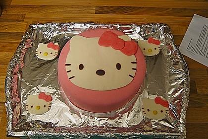Hello - Kitty - Torte 19