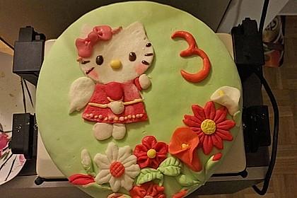 Hello - Kitty - Torte 3