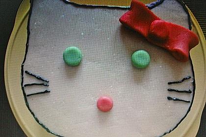 Hello - Kitty - Torte 121