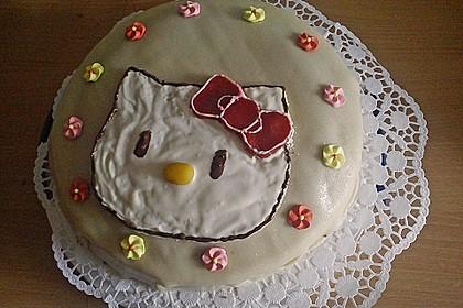 Hello - Kitty - Torte 96