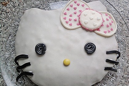 Hello - Kitty - Torte 34