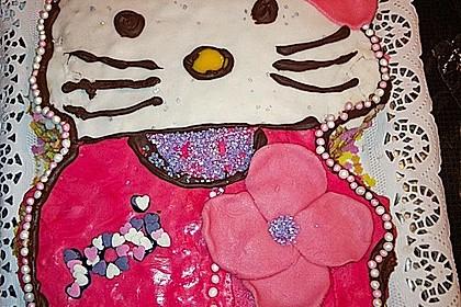 Hello - Kitty - Torte 93