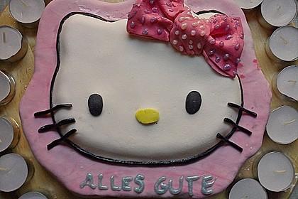 Hello - Kitty - Torte 12