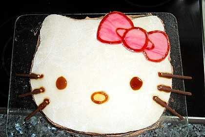 Hello - Kitty - Torte 17