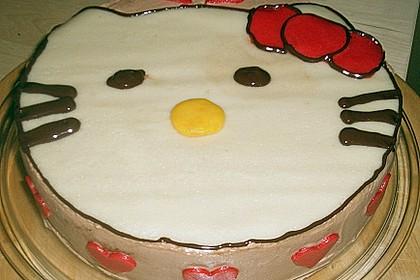 Hello - Kitty - Torte 91