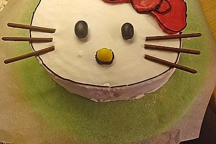 Hello - Kitty - Torte 15