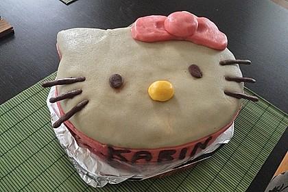Hello - Kitty - Torte 11
