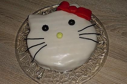 Hello - Kitty - Torte 21