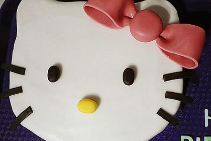 Hello - Kitty - Torte 1