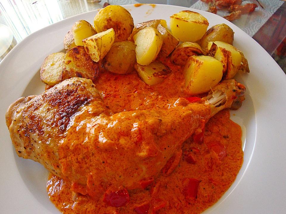 Paprika huhn von lucky milano Ungarisches paprikahuhn