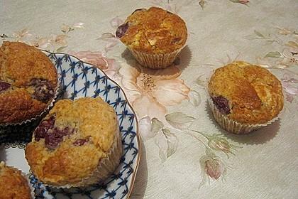 Batida - Kokos - Kirsch - Muffins 3