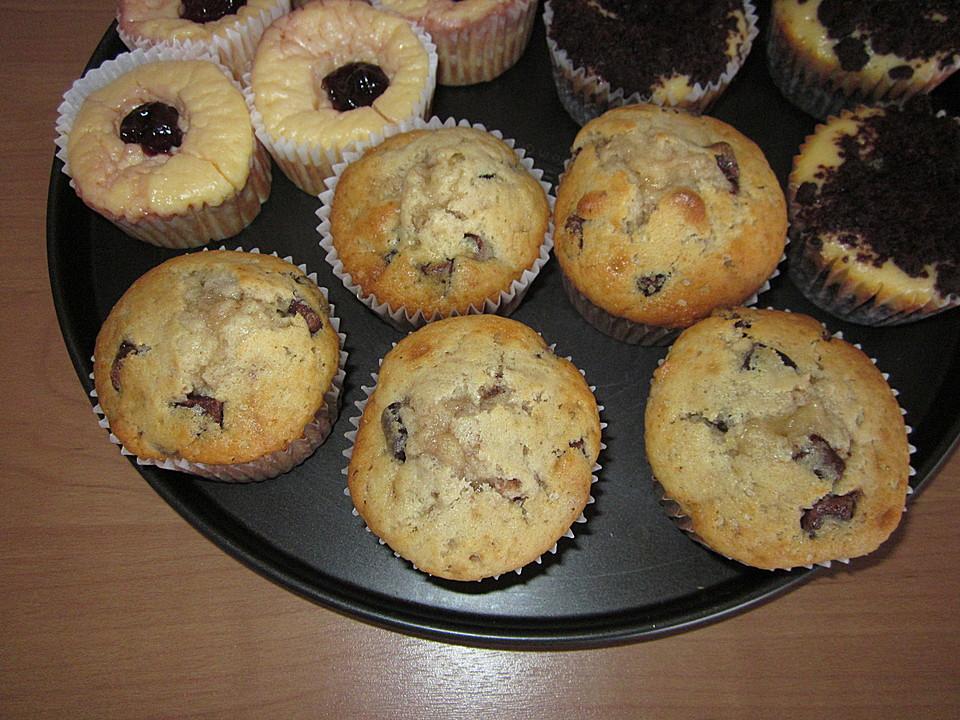 schokoladen walnuss muffins rezept mit bild. Black Bedroom Furniture Sets. Home Design Ideas