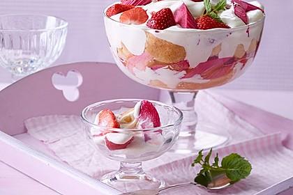 Erdbeer - Rhabarber - Tiramisu